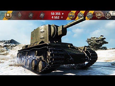 Видео World of Tanks советский тяжелый танк КВ-4