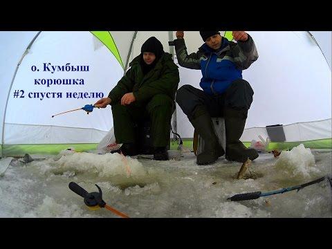 рыбалка на корюшку на севере