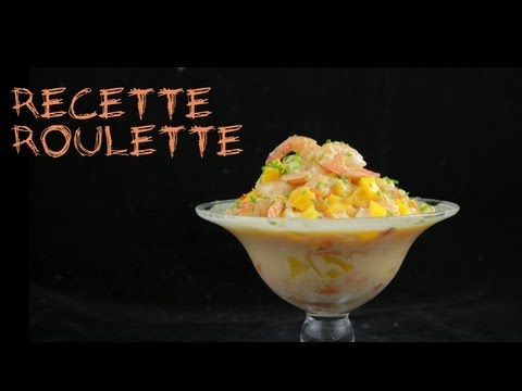 Recette : crevettes au lait de coco