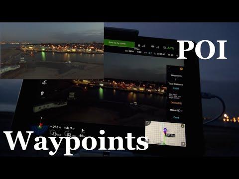 HPIGUY | DJI Inspire 1 POI & Way Points - Point of interest
