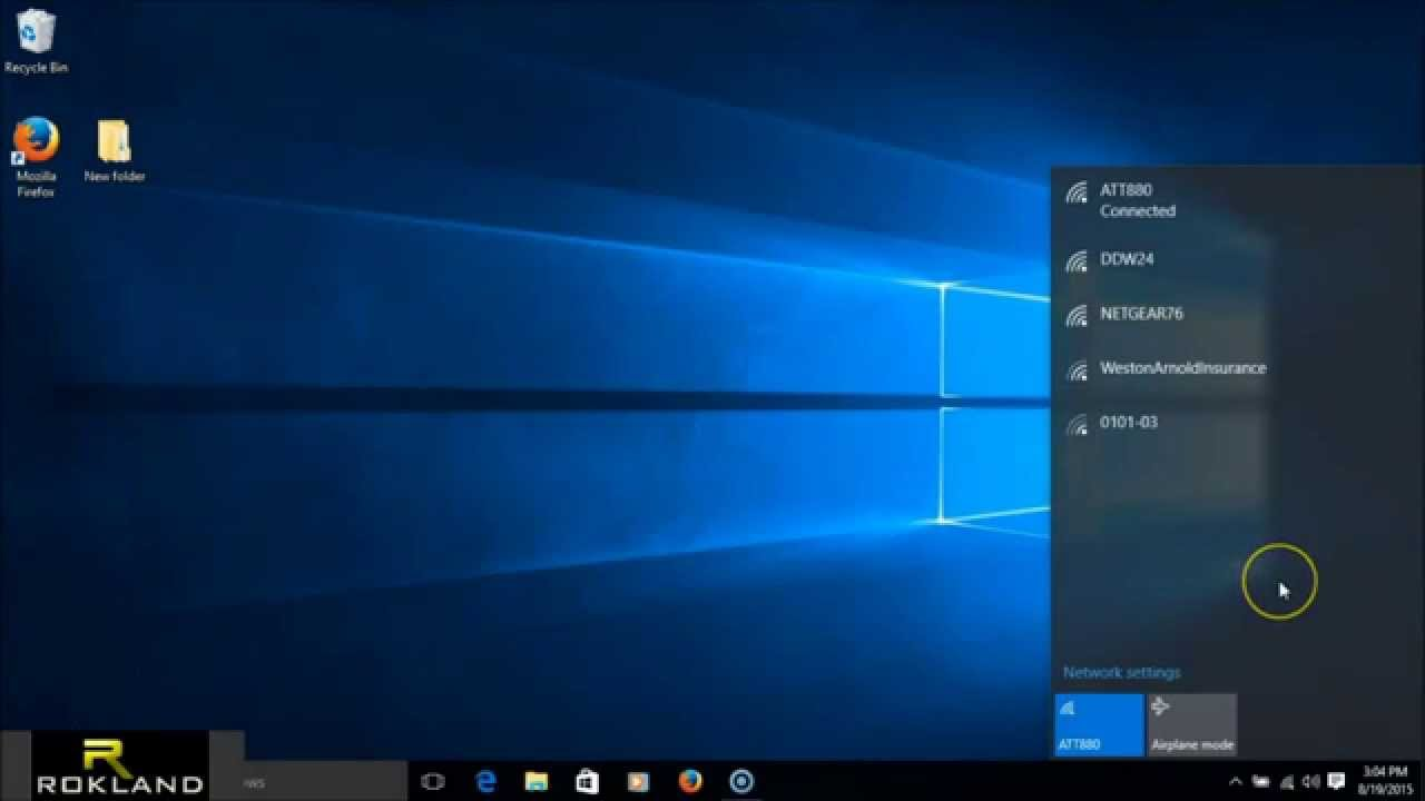 Windows 10 Support for Alfa Network products- updated 2017 – Rokland