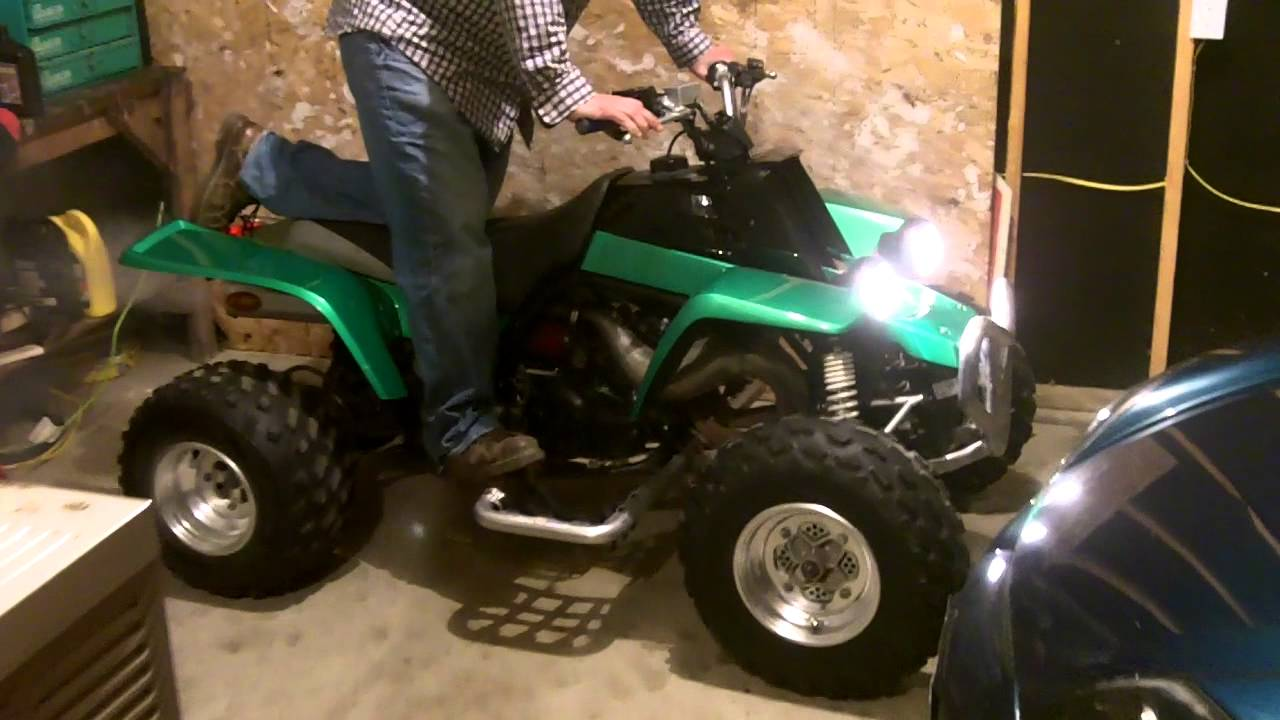 Yamaha Atv Custom Paint Youtube
