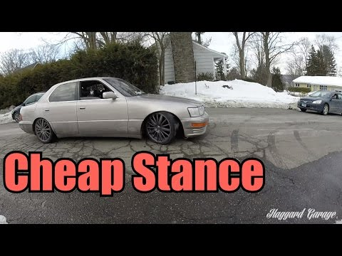 Haggard Garage Reddit >> [THROWBACK] How To Stance Your Car For Super Cheap : HaggardGarage