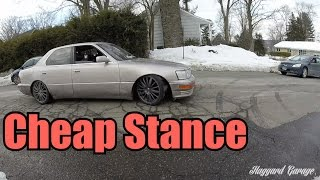 How To Stance Your Car For Super Cheap