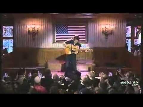 John Mellencamp Pink Houses Acoustic Live 2008 Youtube
