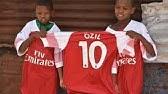 92eb6a0e786 Ozil sent me an Arsenal kit after seeing my homemade shirt  - BBC ...