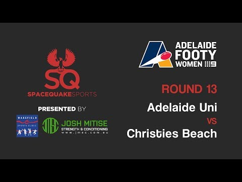 LIVE | Adelaide Uni vs Christies Beach | Adelaide Footy Women