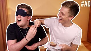 TRYING FOOD FROM AROUND THE WORLD WITH CASPAR LEE