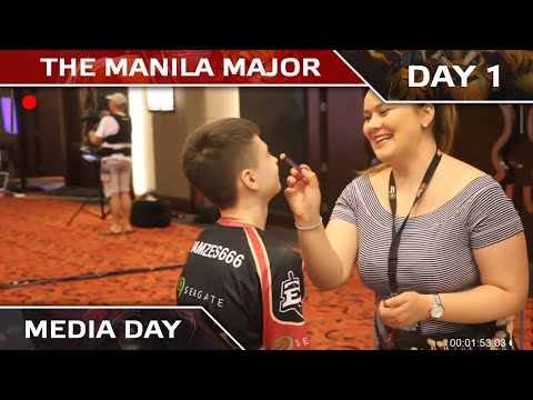 Empire Media Day @ Manila Major