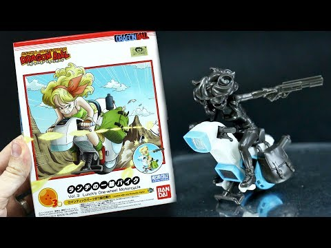 1275 - Dragonball Mecha-Collection Vol.3 (Lunch's One-wheel Motocycle) Review