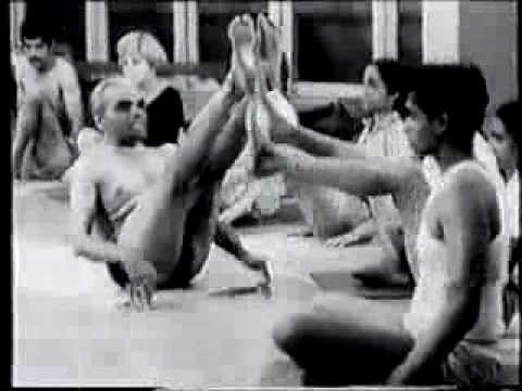The Amazing Contortions of B.K.S. Iyengar