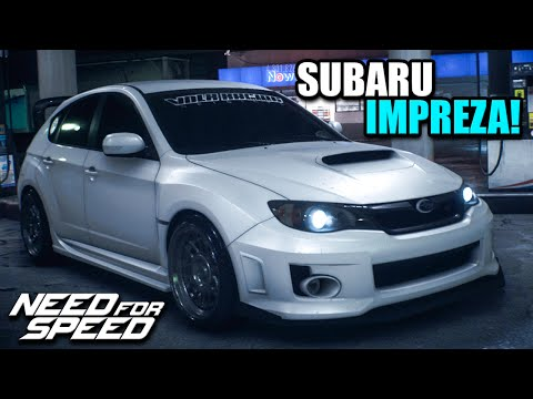 NFS 2015 Custom Cars - Rally/Stanced Subaru Impreza WRX STI - DAT WING THOUGH!
