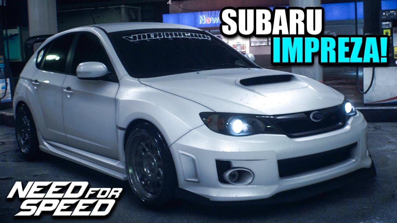 Nfs 2015 Custom Cars - Rally  Stanced Subaru Impreza Wrx Sti - Dat Wing Though