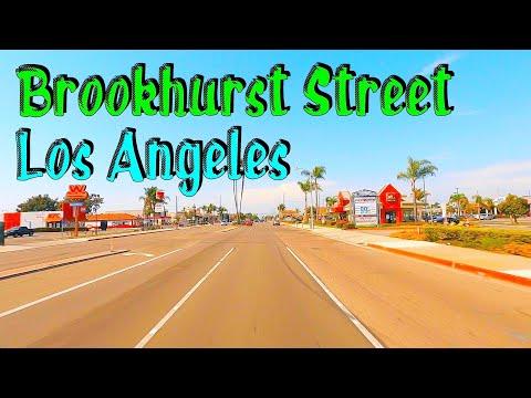 Brookhurst St, Huntington Beach To Fullerton! Los Angeles Street Driving Tours. HD