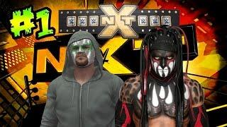 WWE 2K16 - Así inicia My Carrera - Finn Balor Vs Nacho Libre en NXT