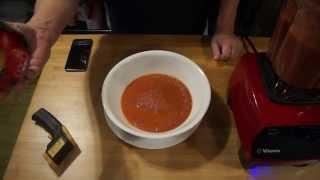 (quick/easy) Vegan Cream Of Tomato & Basil Soup In A Vitamix
