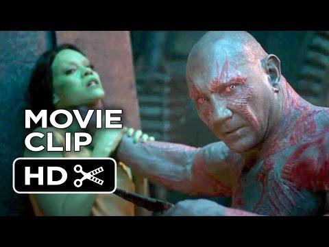 Guardians of the Galaxy Movie CLIP - Drax (2014) - Chris Pratt Movie HD
