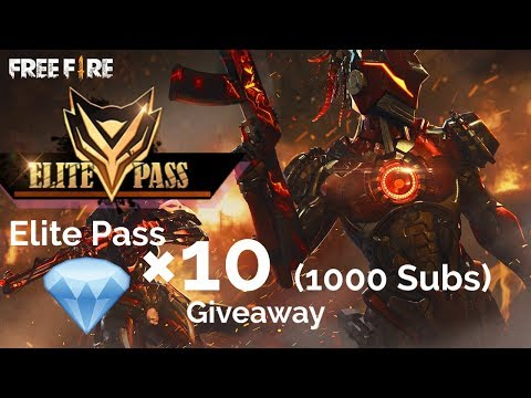 (Live 🔴)  Free Fire India 50 Diamonds Giveaway   10 Elite Pass Giveaway at 1000 Subscribers  🔥🔥