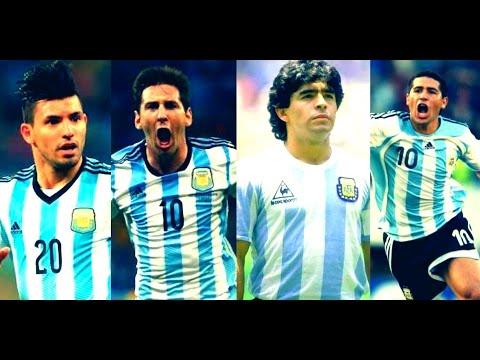 Top 10 ● Los Mejores Goles De La Selección Argentina