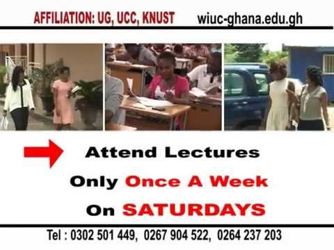Wisconsin International University College, Ghana - Weekend Degree Program