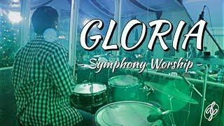 Gloria - symphony worship || daniel pasaribu (drum cam) #hdaudio