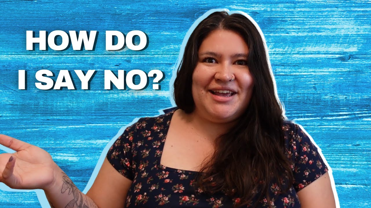 A Therapist's Tips on Saying No!
