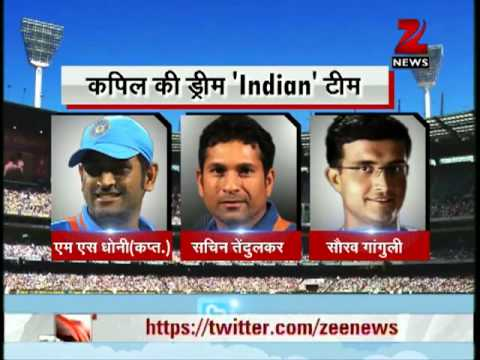 Zee News: Daily News and Analysis: Sudhir Chaudhary talks about Kapil Dev's dream