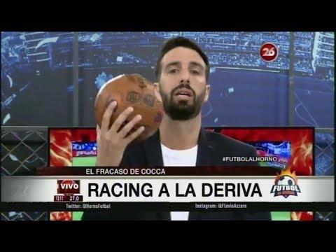 Futbol al Horno - 26 Noviembre 2017 - Azzaro caliente humillante derrota Racing con Independiente