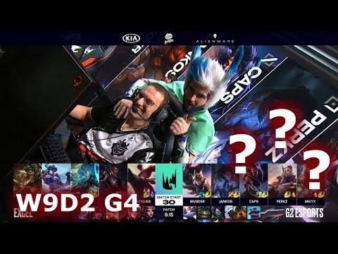 Excel vs G2 eSports | Week 9 Day 2 S9 LEC Summer 2019 | XL vs G2 W9D2