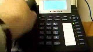 Grandstream GXP 2000 -Place a Call