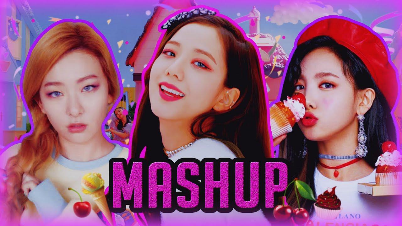 Blackpink x TWICE x Red Velvet +MORE - Ice Cream x Ice Cream Cake x What Is Love? {10+ Songs MASHUP}