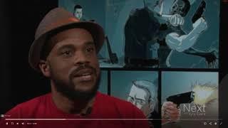 Comic Book Writer Addresses Police Shootings & Race Relations | 9 News NBC (2017) | R. Alan Brooks