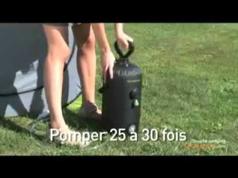 Portable Shower Quechua Youtube