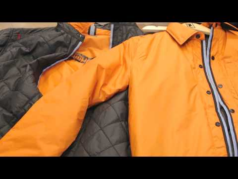 2015 Chrome Industries - Warm Vest and Warm Work Shirt