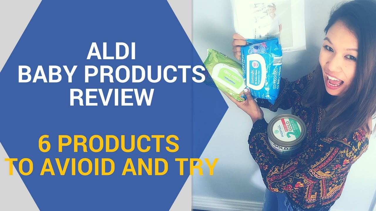 ALDI Baby Products Review - Products I Swear By - YouTube