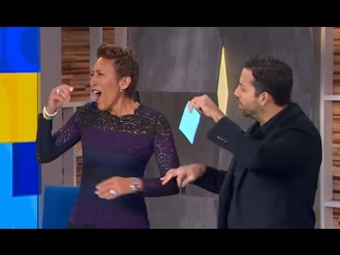 David Blaine Magic Tricks on GMA