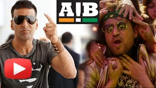 Akshay Kumar Upset With Irrfan Khan | AIB Spoof