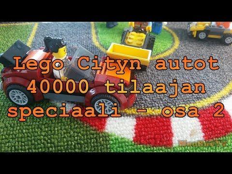 LASTENOHJELMIA SUOMEKSI - Lego cityn autot - 40000 tilaajan speciaali - osa 2