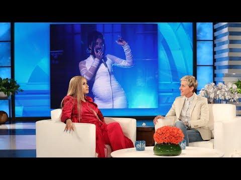 Cardi B Showed Ellen How She Got Pregnant