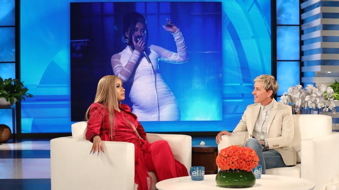 Download Cardi B Showed Ellen How She Got Pregnant