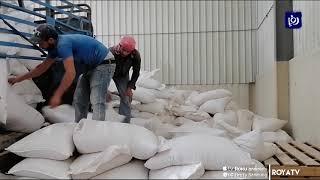 محافظ جرش يتفقد مستودعات الأعلاف التابعة للمحافظة 30/3/2020