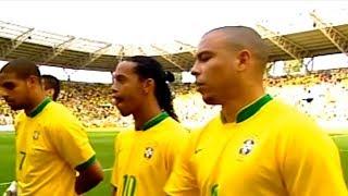 Quando Dava Medo Da Seleção Brasileira com Ronaldinho Gaúcho, Ronaldo, Adriano ...