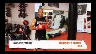 BOXSACK TRAINING BEGINNER TEIL1 mit Guido Wedekind