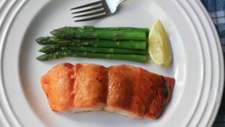 Miso Maple Salmon Recipe - Broiled Salmon with Miso Maple Glaze