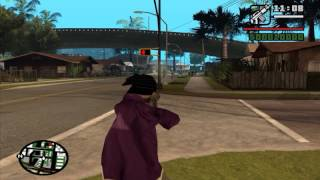 GTA San Andreas - DYOM Mission #4 - Kill The Johnson's Mother!