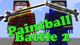 Let's Battle Minecraft Paintball Mod S4 #2 [Concrafter + LPmitKev] [HD/German] thumbnail