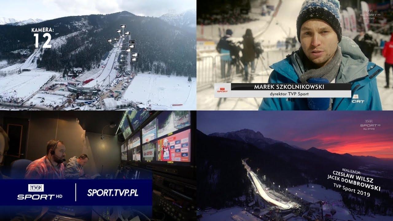 Puchar Świata, Zakopane. Kulisy transmisji Telewizji Polskiej