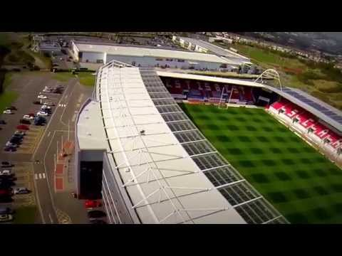 Parc y Scarlets.Llanelli By Hidden Carmarthenshire 'From the Air