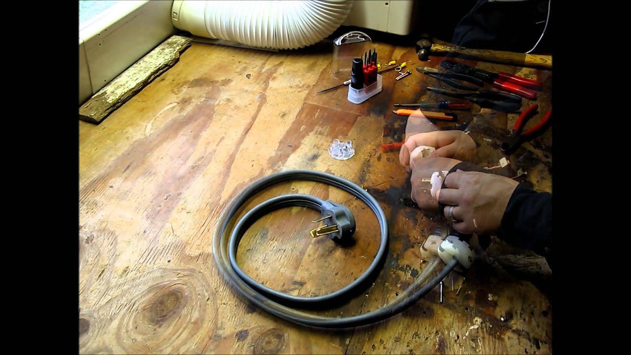 dryer power cord wiring diagram full wave bridge rectifier how to build a backfeed - youtube