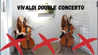 Vivaldi - Double Cello Concerto! (in G minor) - Tess Crowther